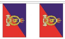 ADJUTANT GENERALS CORPS BUNTING - 3 METRES 10 FLAGS